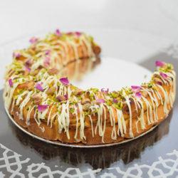 Muhalabiya hilal cake