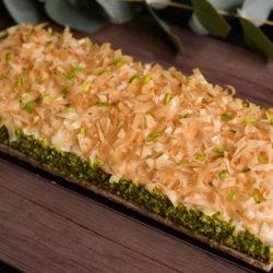 Red Velvet Muhalabiya Cake