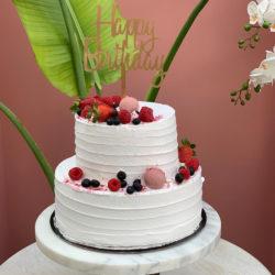 TIER RED VELVET CAKE 002